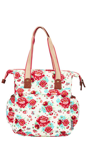 Basil Bloom Shopper gardenia white